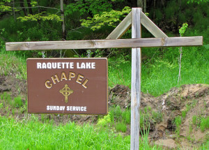raquette-lake-chapel-sign